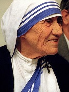 A study in honor of St. Teresa of Calcutta. Image Copyright 1986 Turelio (via Wikimedia-Commons), 1986 / Lizenz: Creative Commons CC-BY-SA-2.0 de