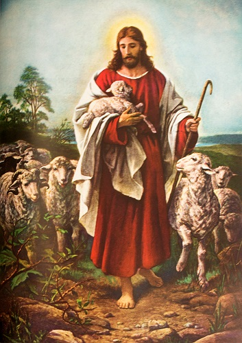 The Good Shepherd. Click to enlarge. See below for provenance.
