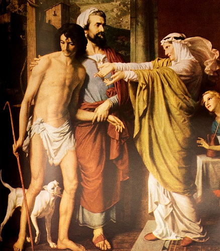 The Return of the Prodigal Son. Click to enlarge. See below for provenance.