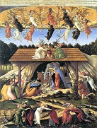 The Mystical Nativity, by Botticelli.